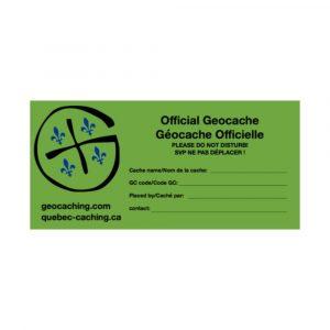 Étiquette-de-cache_Geocache-Label_Quebec-Caching_Geocaching-Quebec